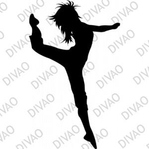 Aper u d 39 une image - Dessin de danseuse moderne jazz ...