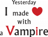 I made love with a vampire