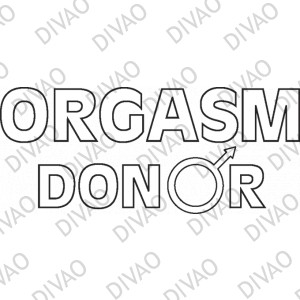 Orgasm donor