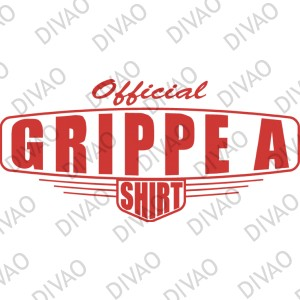 Grippe A official tee-shirt