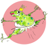 Frog danseuse,  de happy tadpole