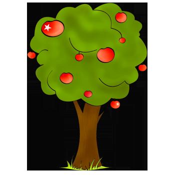 Aper u d 39 une image - L arbre le pommier ...