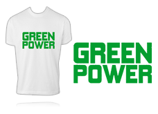 Tee-shirt - GREEN POWER
