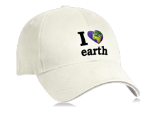Casquette I LOVE EARTH