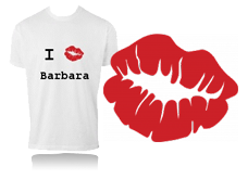 Tee-shirt - I love bouche