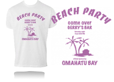 Tee-shirt BEACH PARTY