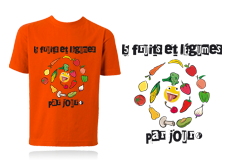 Tee-shirt 5 FRUITS