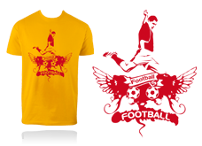 Tee-shirt ECUSSON FOOT
