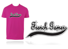 Tee-shirt FRENCH GAMER