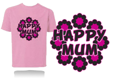 Tee-shirt HAPPY MUM