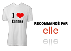 Tee-shirt I love Cannes