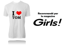Tee-shirt I LOVE TOM