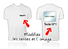 Tee-shirt recto verso 2